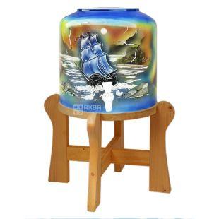 Dispenser, Sailboat, Blue
