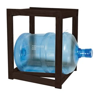 ViO, Підставка дерев'яна WS-1, під 1 бутель, ВенгеShelf rack wooden under 1 bottle with water, WS-1 WENGE