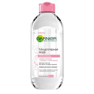 Garnier, 400 ml, micellar water, for all skin types