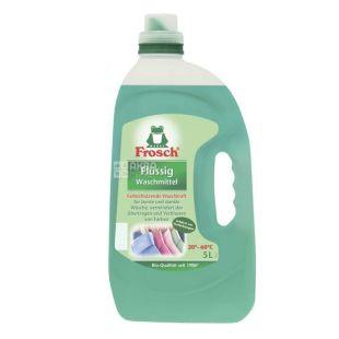 Frosch, 5 л, рідкий пральний порошок, для кольорових тканин