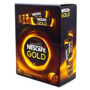 Nescafe Gold, Кава розчинна, 25 шт. по 5 г