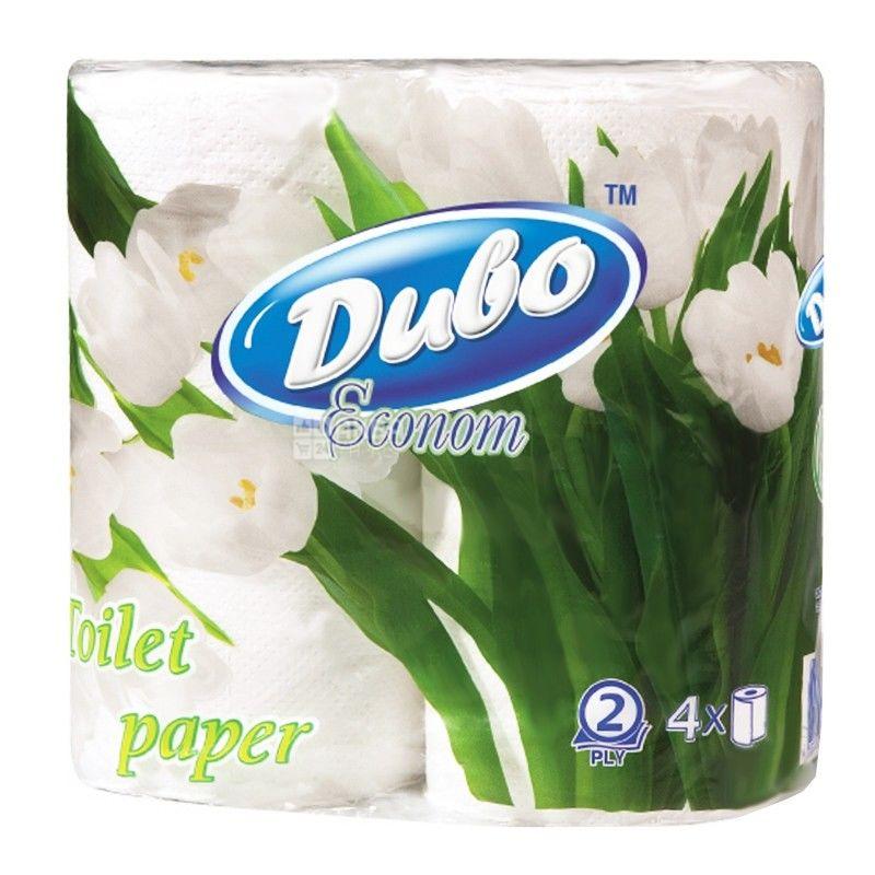 Диво, 4 рулона, туалетная бумага, Econom, м/у