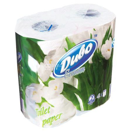 Диво, 4 рулони, туалетний папір, Econom, м/у