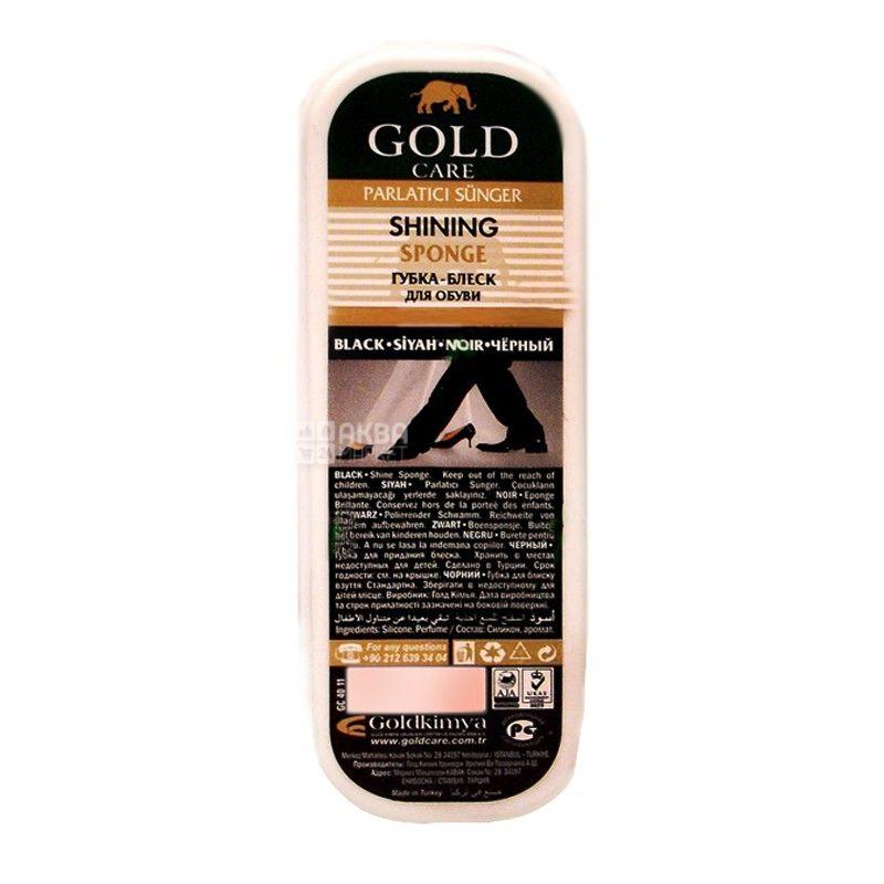 Goldcare, губка-блеск, Стандартная, Бесцветная, ПЭТ