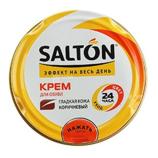 Salton, 50 ml, shoe polish, Brown, w / w