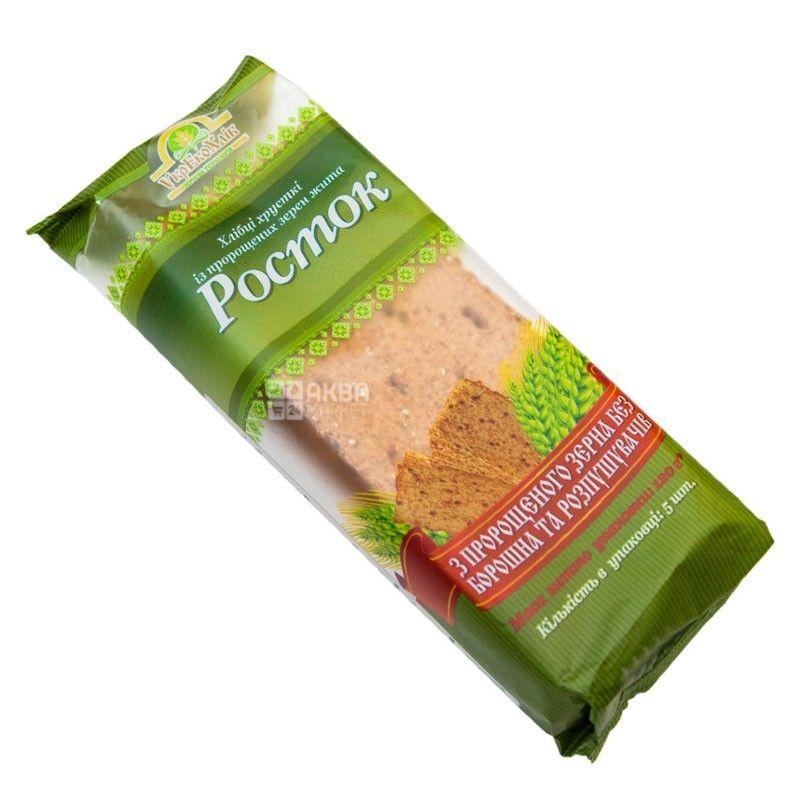 Росток, 120 г, хлебцы, из проросших зерен пшеницы