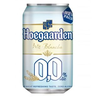 HoeGaarden, 0.33 L, non-alcoholic beer, White