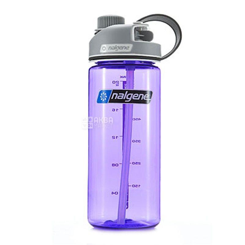 Nalgene, 0,6 л, пляшка для води, MultiDrink, фіолетова