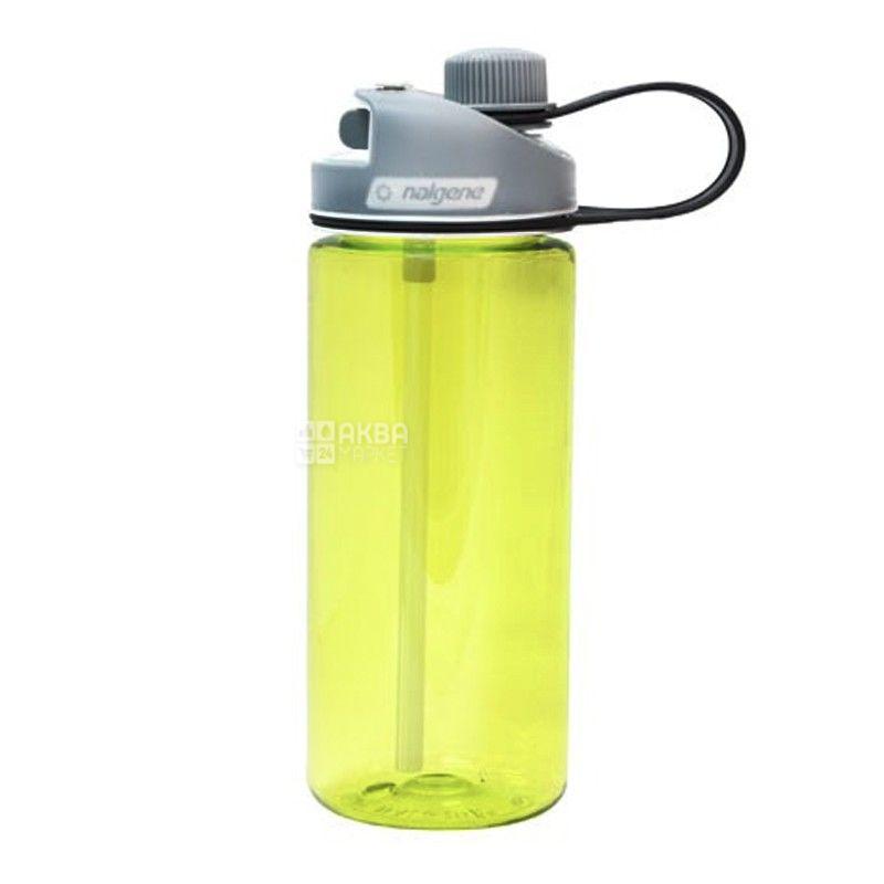 Nalgene, 0,6 л, пляшка для води, MultiDrink, жовта