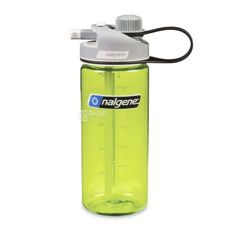 Nalgene, 0.6 l, water bottle, MultiDrink, yellow