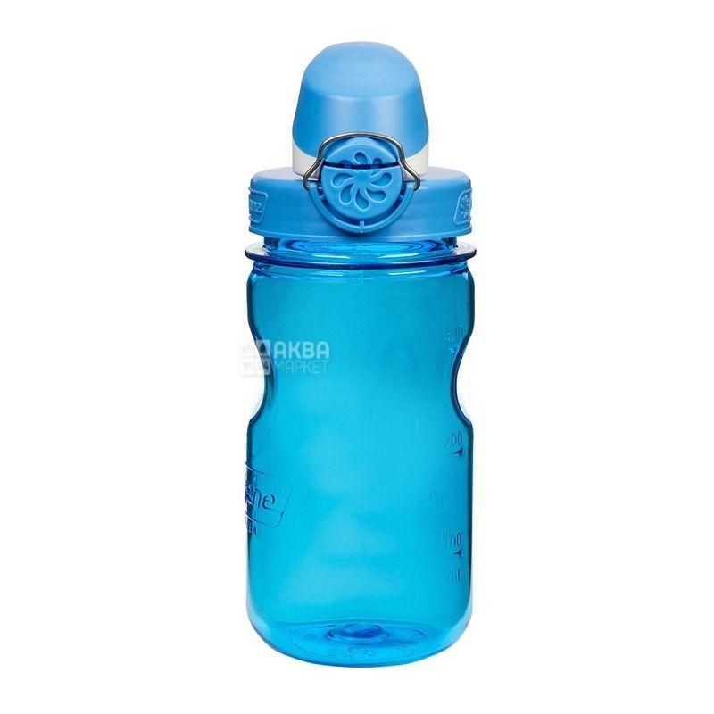 Nalgene, 0,375 л, пляшка для води, Wide Mouth, синя