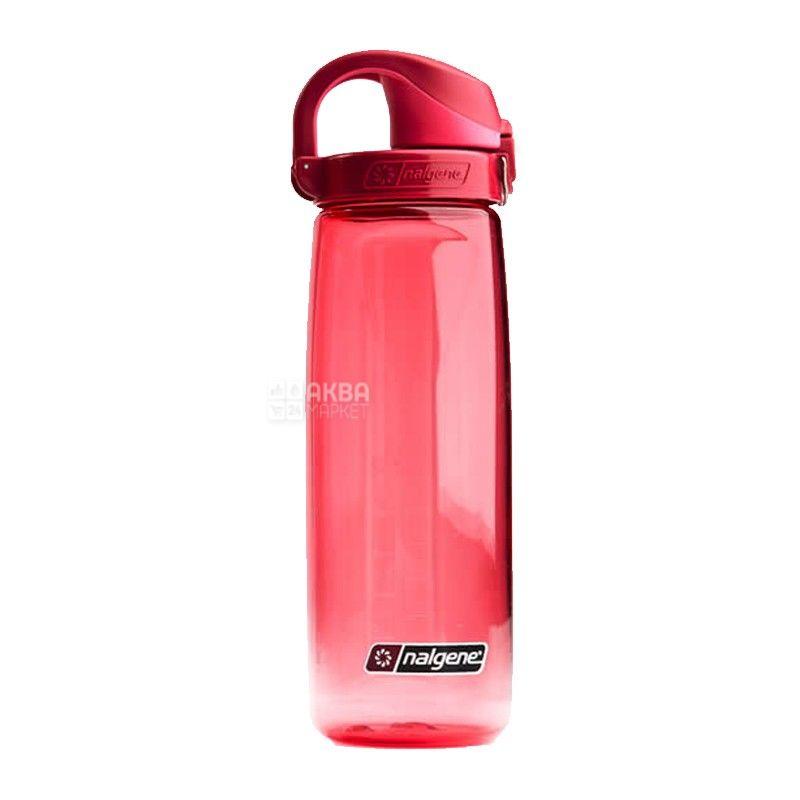 Nalgene, 0,7 л, пляшка для води, On The Fly, рожева