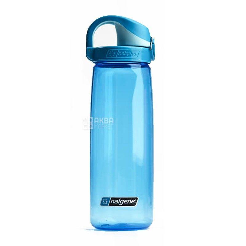Nalgene, 0,7 л, пляшка для води, On The Fly, синя