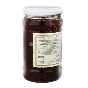 Dari Laniv, 360 g, jam, raspberry, glass
