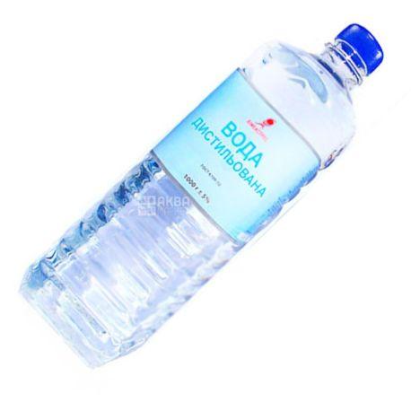 Химэкспресс, 1л, Дистиллированная Вода, ПЭТ