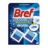 Bref, 2 шт. по 50 г, чистящие кубики для сливного бачка, Duo-Cubes, м/у