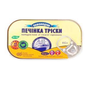 Аквамарин, 115 г, печень трески