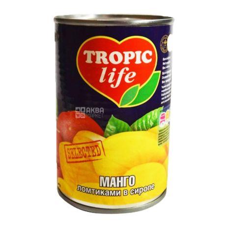 Tropic Life, 425 мл, манго, ломтики в сиропе