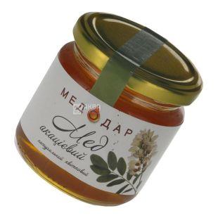 Медодар, 250 г, мед, акацієвий, скло