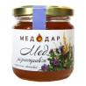 Медодар, 250 г, мед, різнотрав'я, квітковий, скло