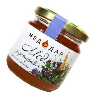 Medodar, 250 g, honey, herbs, floral, glass