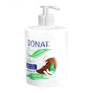 Donat, 0,5 л, жидкое мыло, Кокос