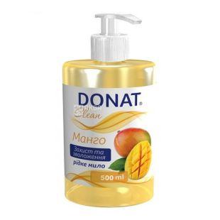 Donat, 0,5 l, liquid soap, mango
