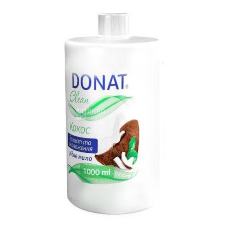 Donat, 1 л, рідке мило, кокос