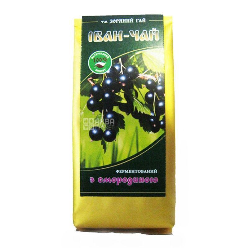 Зоряний гай, Иван-чай со смородиной, 50 г, Чай травяной с витамином С, ферментированный