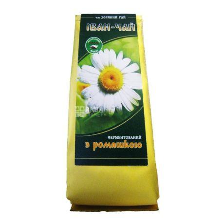 Зоряний гай, Иван-чай с ромашкой, 50 г, Чай травяной, ферментированный