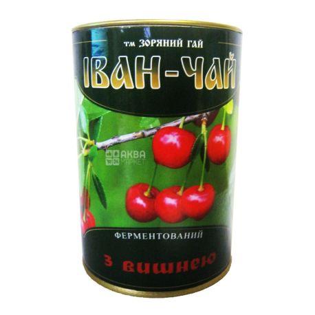 Зоряний гай, Иван-чай с вишней,100 г,  Кипрейный чай, ферментированный, ж/б