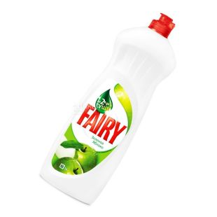 Fairy, 1 liter, dishwashing detergent, apple