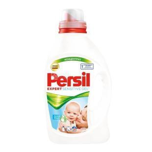 Persil, 1,46 л, гель для стирки, Алоэ вера, Expert Sensitive