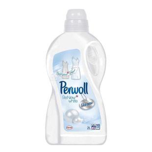 Perwoll, 2 л., засіб для прання білих тканин, White Magic