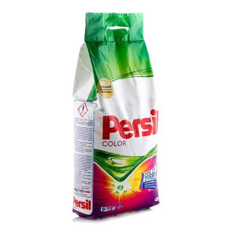 Persil Color, 9 кг, пральний порошок для кольорового одягу