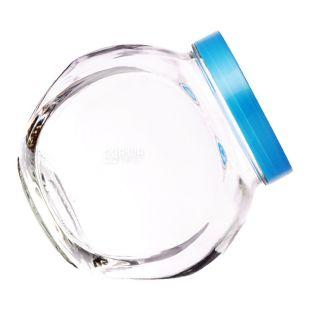 Everglass, 1, 73 л, банка, с крышкой, круглая, стекло
