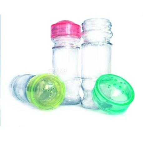 Everglass, 80 г, банка для специй, С крышкой, стекло