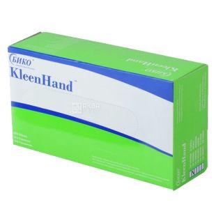 KleenHand, 200 шт., размер М, перчатки нитриловые, м/у