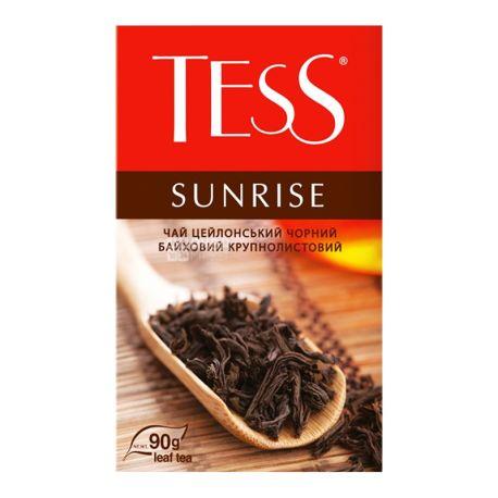 Tess Sunrise, 80 г, Чай Тесс Санрайз, чорний