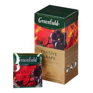 Greenfield, 25 шт., чай травяной, Festive Grape