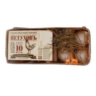 Господин Петуховъ, 10 шт., яйца куриные, С0