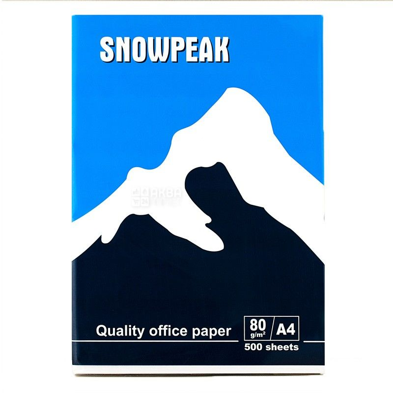 Snowpeak, 500 л., бумага, А4, м/у
