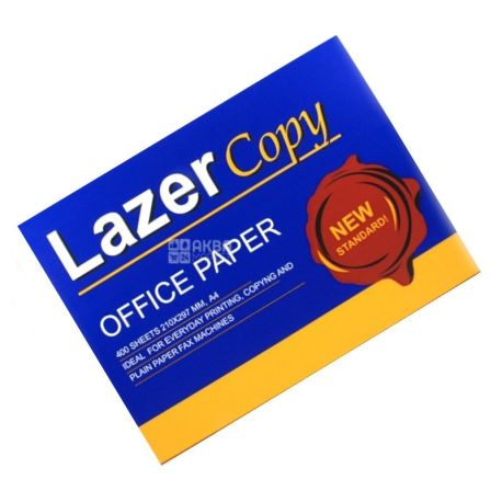 Lazer Copy, 400 л., бумага, А4, м/у