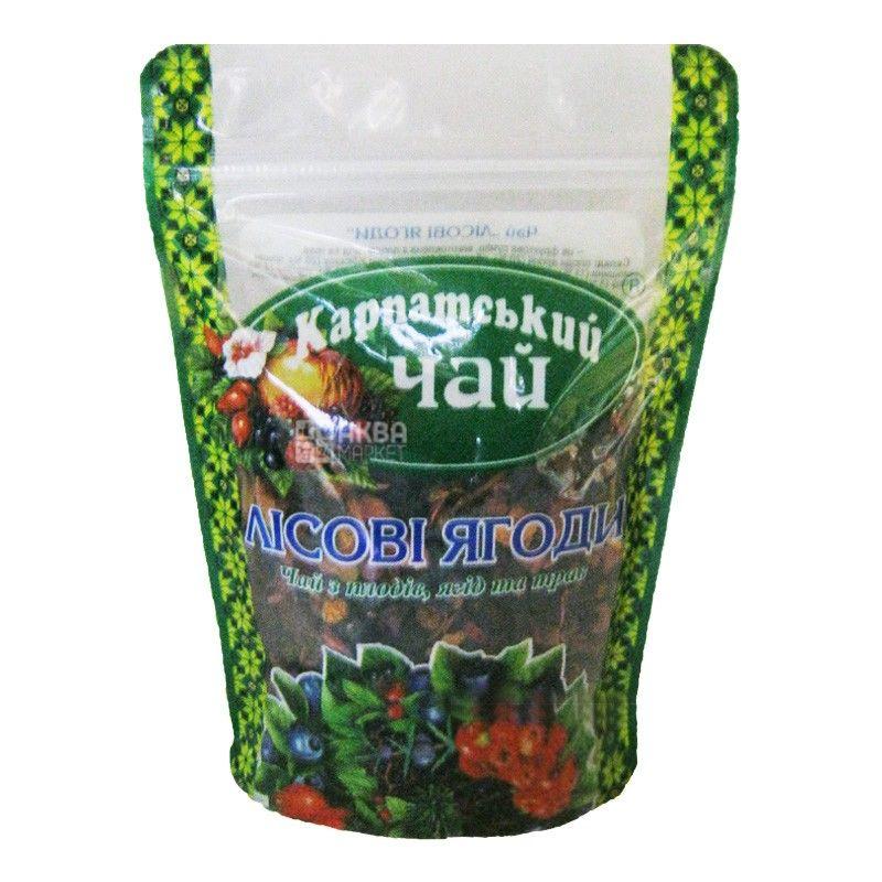 Карпатський, 100 г, чай, лісові ягоди