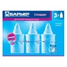 Barrier, 3 pcs., Filter cartridges, Standard