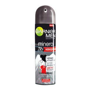 Garnier, 150 мл, спрей, дезодорант-антиперспирант, мужской, Невидимый