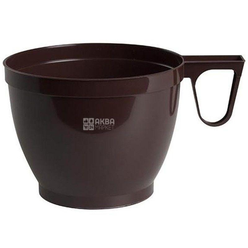 Промтус Чашка пластикова для кави 170 мл, 30 шт.