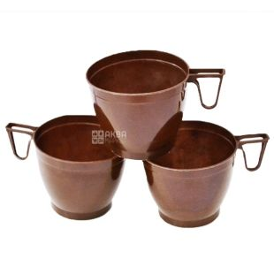 Plastic cup for coffee 170 ml, 30 pcs.