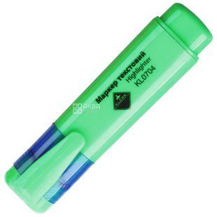 Klerk, 2-4 mm, text marker, Neon, Green, m / s