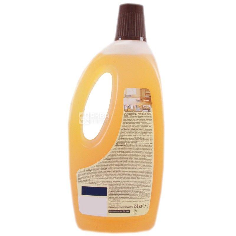 Pronto, Средство для мытья деревянных полов, 750 мл